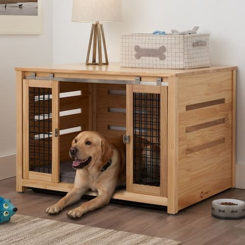 """TRINITY 40"""" Pet Crate Accent Table"""