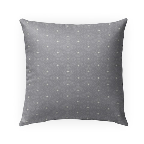 SWEATER GRAY Indoor-Outdoor Pillow By Kavka Designs