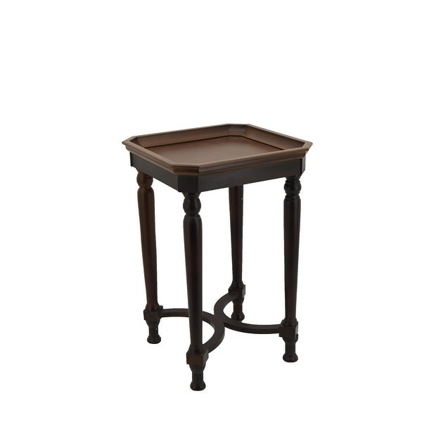 COZAYH Modern Farmhouse Tray Top End Table. Opens flyout.