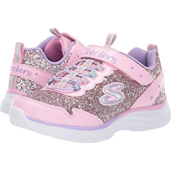 17cb4366dea1 Shop Skechers Kids Girl s Glimmer Kicks 81448L (Little Kid Big Kid) Pink  Multi - Free Shipping Today - Overstock - 27369884