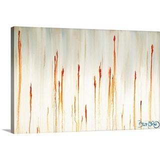 """Cattails"" Canvas Wall Art"