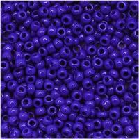 Toho Round Seed Beads 11/0 48 Opaque Navy Blue 8 Gram Tube