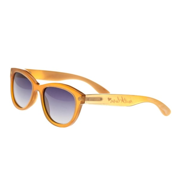 b7aaaf3d29ff Shop Bertha Carly Women s Real Animal Horn Sunglasses - 100% UVA UVB  Prorection - Polarized Lens - Multi - On Sale - Free Shipping Today -  Overstock - ...