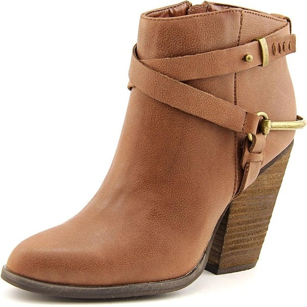 Very Volatile Oxford Women Pointed Toe Leather Ankle Boot