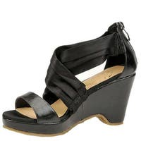 Beacon Womens alana criss Open Toe Casual Ankle Strap Sandals