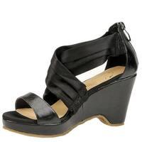 Beacon Womens alana criss Open Toe Casual Strappy Sandals