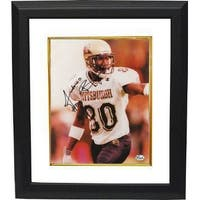Antonio Bryant signed Pittsburgh Panthers 8x10 Photo Custom Framed