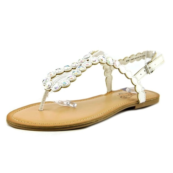 Unlisted Kenneth Cole Magic Coin Women Open Toe Synthetic Sandals