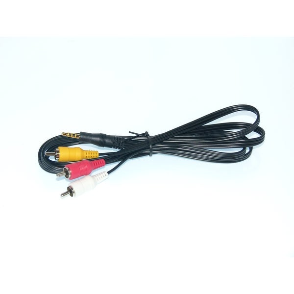 OEM Panasonic AV Cable Originally Shipped With: HCV10, HC-V10, HCV10M, HC-V11M