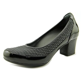 FootSmart Christine  W Round Toe Synthetic  Heels