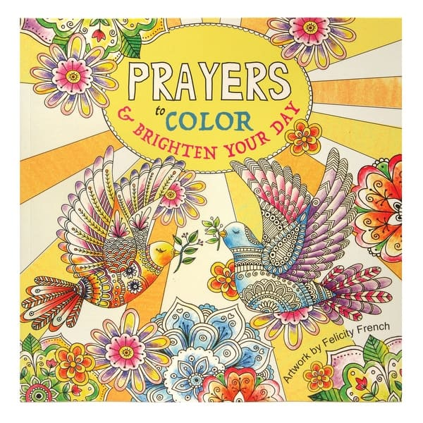 Shop Prayers and Psalms Adult Coloring Books Set - Religious ...