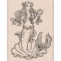 "Hero Arts Mounted Rubber Stamp 4""X2.875""-Mermaid"