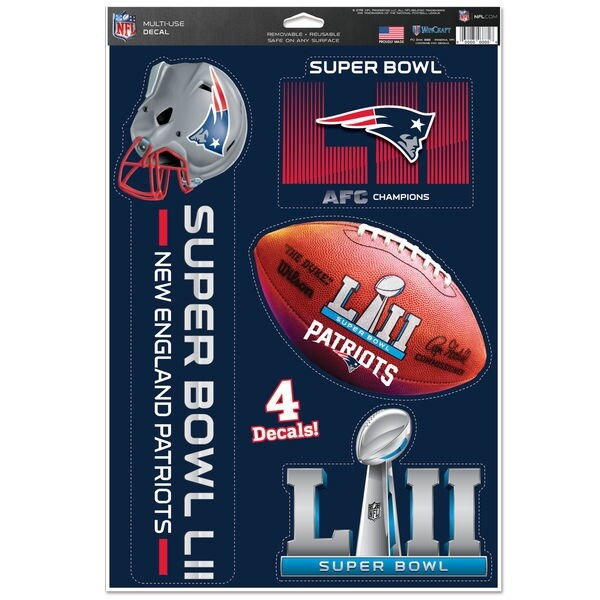 Shop New England Patriots 2017 AFC Champions 11 x 17 Multi Use