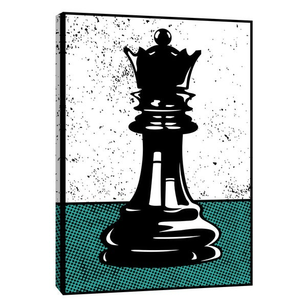 """PTM Images 9-108625 PTM Canvas Collection 10"""" x 8"""" - """"Chess Queen"""" Giclee Sports and Hobbies Art Print on Canvas"""