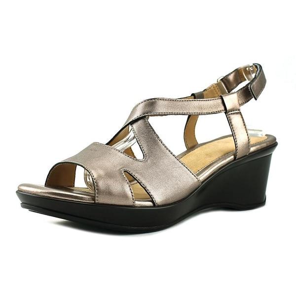 c178efff29be Shop Naturalizer Villette Women Bronze Sandals - Free Shipping On ...
