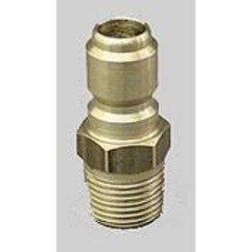 "MI-T-M AW-0017-0005 Quick Connect Gun Plug, 3/8""x3/8"" MPT"