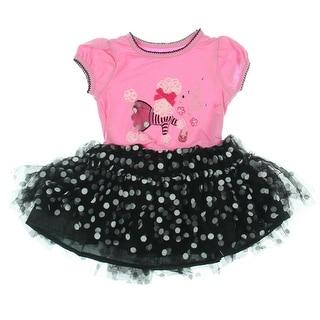 Nannette Toddler Poodle Casual Dress - 2T