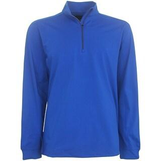 Greg Norman Mock 1/4 Zip Pullover