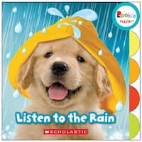 Board Book Listen To The Rain Rookie Toddler