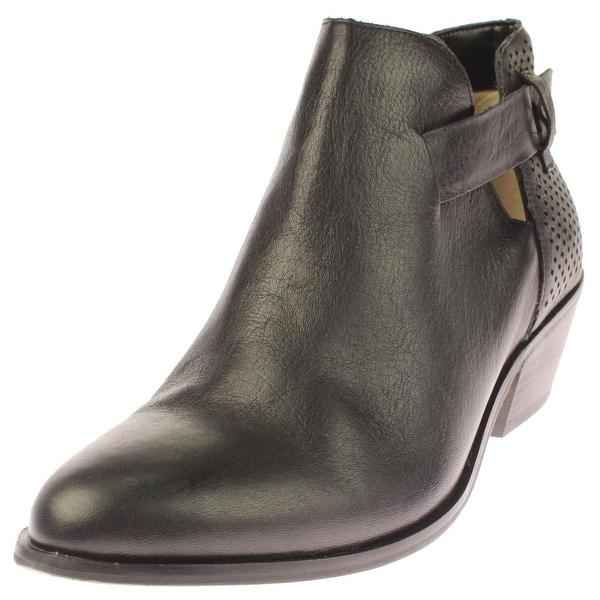 Dr. Scholl's Womens Jonet Booties Leather