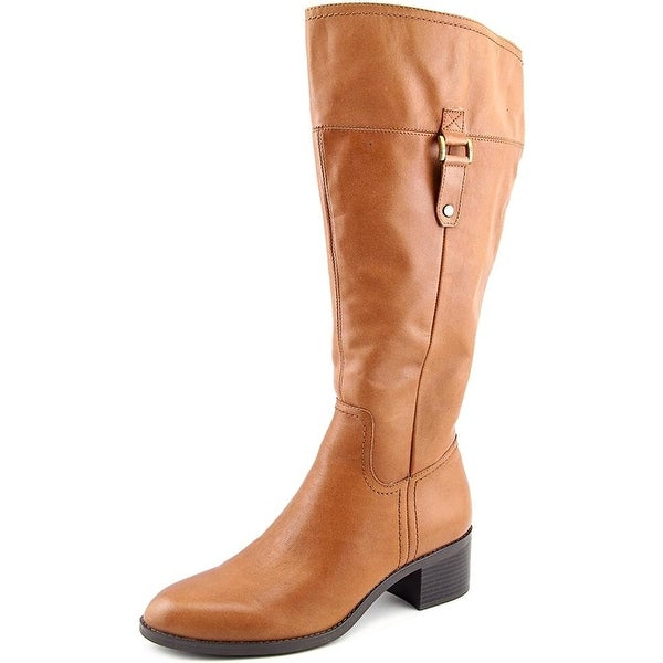 Franco Sarto Womens Lizbeth (Wide Calf) Closed Toe Mid-Calf Fashion Boots