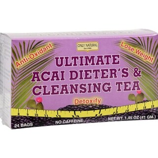 Only Natural - Ultimate Acai Dieter And Cleansing Tea ( 2 - 24 BAG)