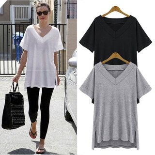 Loose Fit Short Sleeve Top