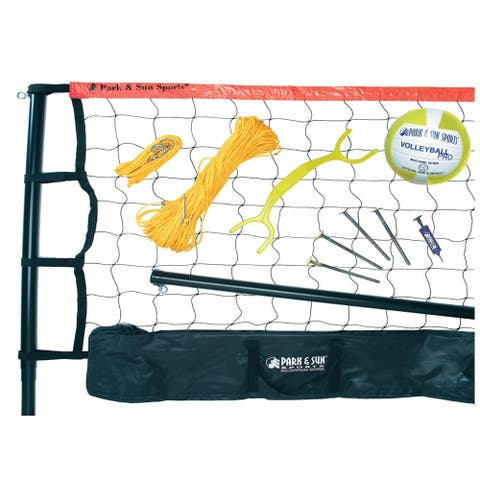 Park & Sun Sports Spectrum 179 Volleyball Set - Orange