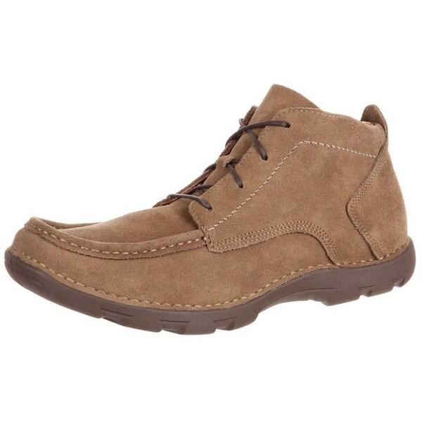 Rocky Western Boots Mens Cruiser Casual Opanka Chukka Brown