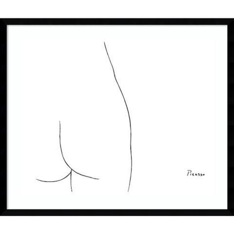 Framed Art Print 'Femme' by Pablo Picasso