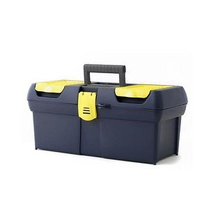 Stanley 016011R Series 2000 Toolbox With Plastic Latch, 16""