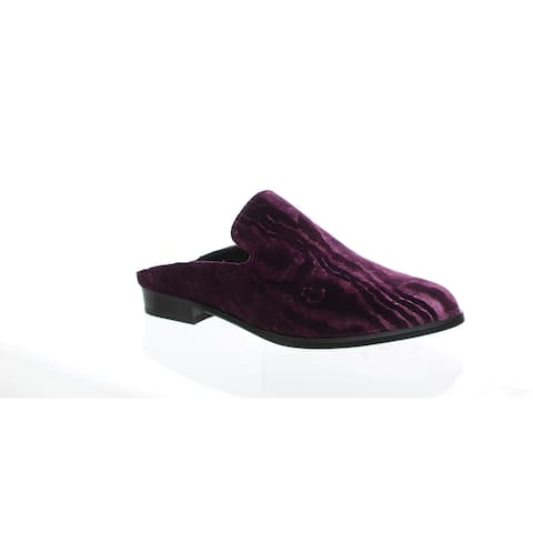 Robert Clergerie Womens Alicetn Purple Mules EUR 36