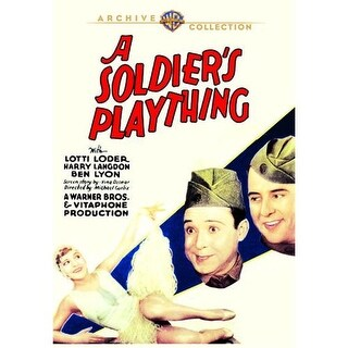 Soldiers Plaything, A DVD Movie 1930