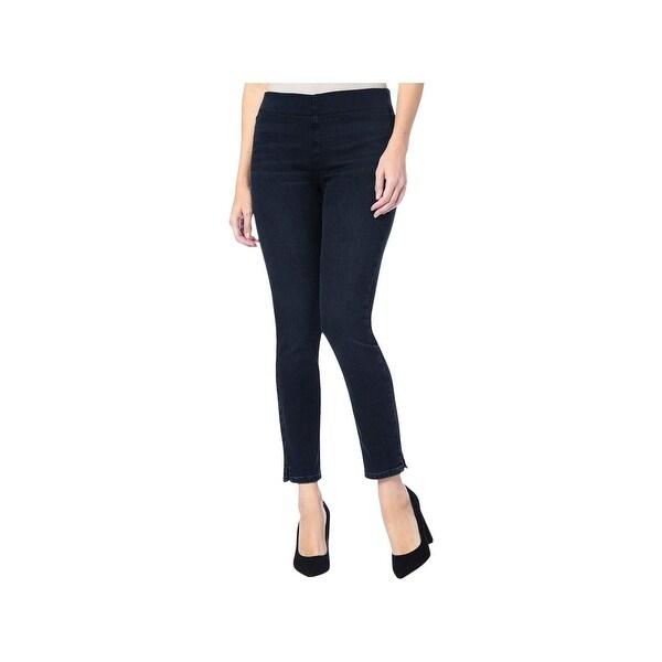 NYDJ Womens Alina Ankle Jeans Pull On Skinny