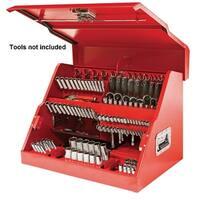 Mastergrip 26-Inch Slant Front Portable Toolbox Truckbox, Job Box -   790211U