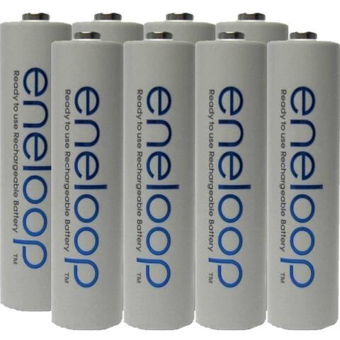 Eneloop Panasonic AAA New 2100 Cycle Rechargeable Batteries- 8 pack