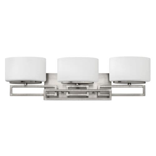 Hinkley Lighting 5103 3 Light Bathroom Vanity Light from the Lanza Collection