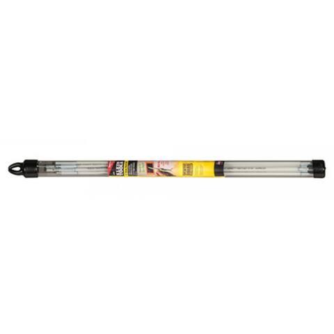Klein Tools 56409 Mid-Flex Glow Fish Rod Set, Fiberglass, 9'