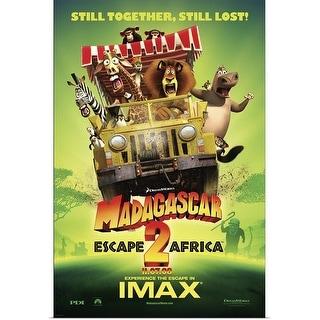 Shop Madagascar Escape 2 Africa Movie Poster Poster Print Overstock 24136553