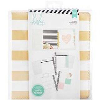 Gold Foil Stripes - Heidi Swapp Large Memory Planner
