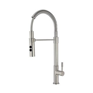 Fortis 43555S0 1.8 GPM Pulldown Spray Single Handle Kitchen Faucet