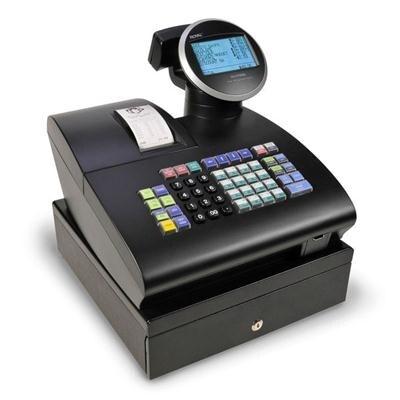 Royal 39285K Alpha 1100Ml Thermal Print Cash Register With 700 Look Ups, Black