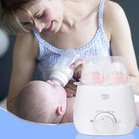 Baby-Joy Portable 3-IN-1 Baby Bottle Warmer Steam Sterilizer Food Breastmilk Heater - White