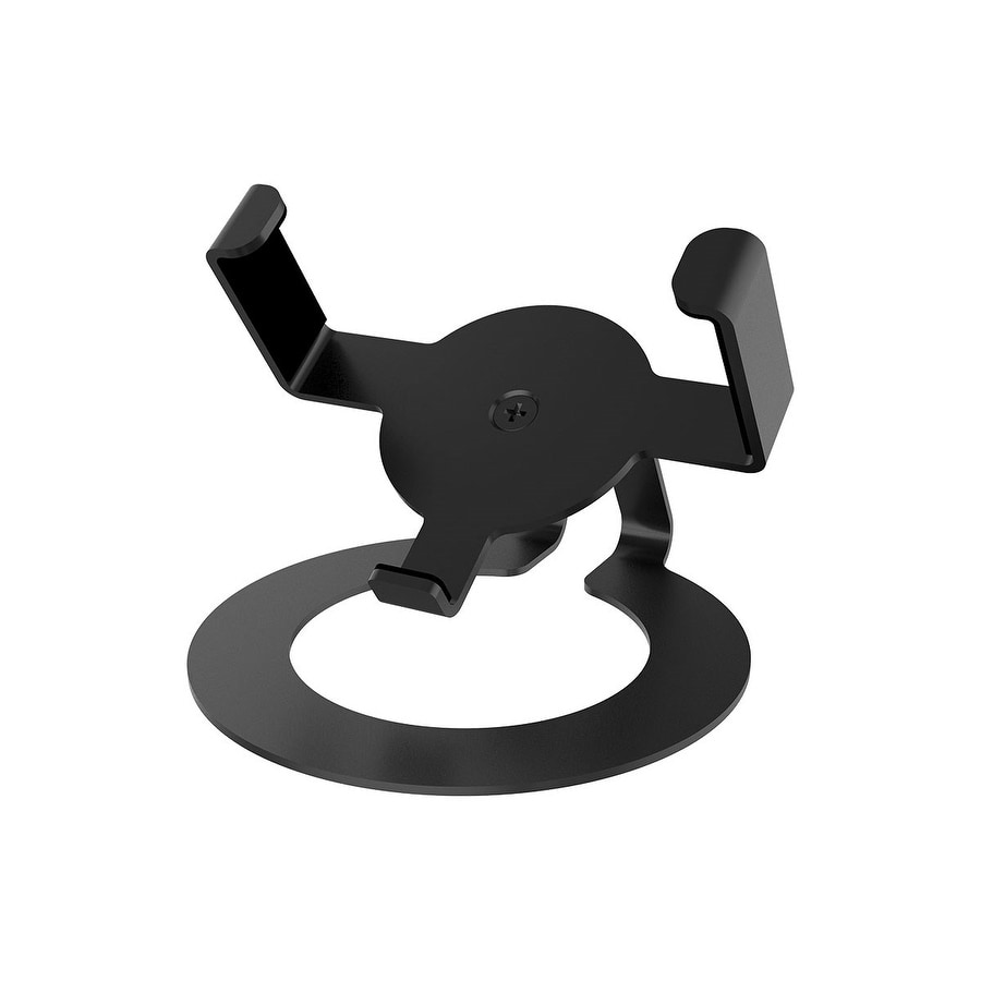 Monoprice Tilt Desk Mount for Amazon Echo Dot - Black |Heavy-Duty | Small & Compact (Heavy-Duty Small & Compact)