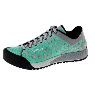 Boreal Climbing Shoes Womens Salsa Turquesa Turquoise Gray