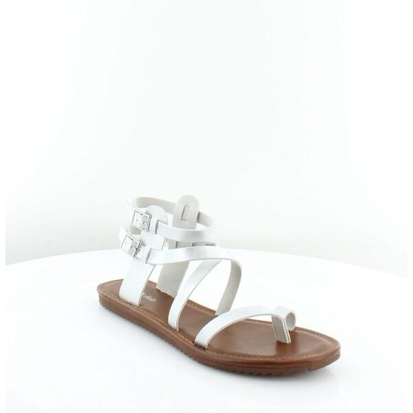 Seven Dials Sync Women's Sandals & Flip Flops Silver/Metallic Smooth - 9.5