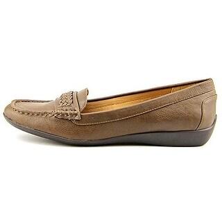 American Living Womens Ulyssa Almond Toe Slide Flats