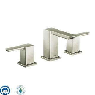 Moen TS6720  Double Handle Widespread Bathroom Faucet from the 90 Degree Collection