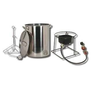 King Kooker #SS1267-30 Qt. Stainless Steel Turkey Fryer Pkg SS1267