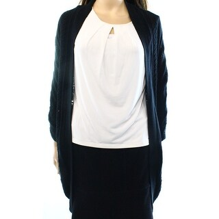 Valette NEW Black Women's Size Small S Dolman Sleeve Cardigan Sweater
